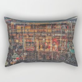 Time shadow Rectangular Pillow