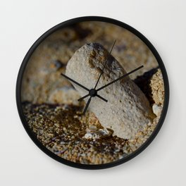 Coral Rest in Pieces Wall Clock