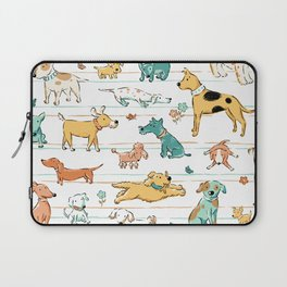 Dogs Dogs Dogs Laptop Sleeve