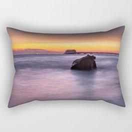 Swansea Bay Sunrise Rectangular Pillow