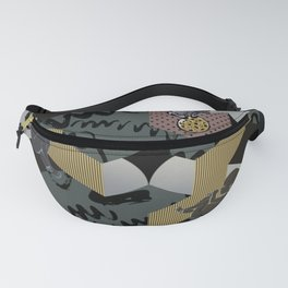 Cosmic child | Chocolate version Fanny Pack