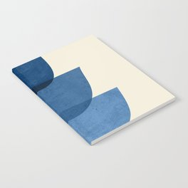 Abstract Shapes 37-Blue Notebook