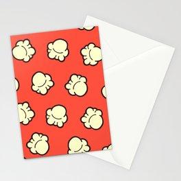 Popcorn Pattern Stationery Cards
