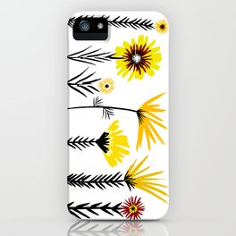 Sunny Days Ahead / floral art iPhone Case