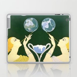 "1920's Art Deco Design ""Bubbles"" Laptop & iPad Skin"