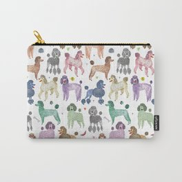 Poodles by Veronique de Jong Carry-All Pouch