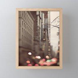 Whoosh Framed Mini Art Print