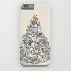 christmas robin tree Slim Case iPhone 6s
