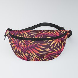Waikiki Palm - Orange Fanny Pack