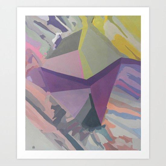 Celadon & Primrose  Art Print