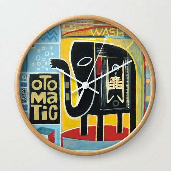 Otomatic Wash Wall Clock