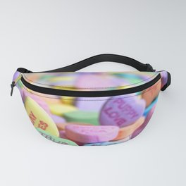 Valentine's Day Candy Hearts Fanny Pack