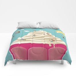 Mountain Ice Cream Comforters