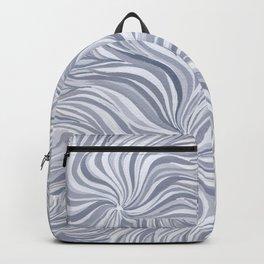 Zen Spirals- Grey Backpack