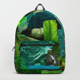 GO GO green Backpack
