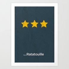 Pixar's Ratatouille Art Print