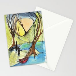 The Red Boat Stationery Cards