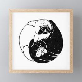 The Tao of French Bulldog Framed Mini Art Print