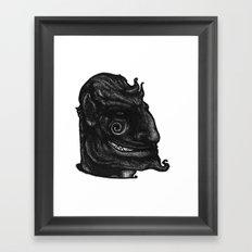 Devil Head Framed Art Print
