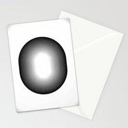 The Space Circle  Stationery Cards