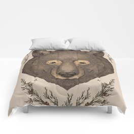 The Bear and Cedar Comforters