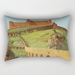 Spoleto Umbria 1927 Rectangular Pillow