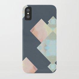 Tie Dye Diamonds iPhone Case