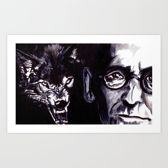 Treatise on the Steppenwolf. Not for Everybody. Art Print