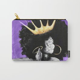 Naturally Queen VI PURPLE Carry-All Pouch