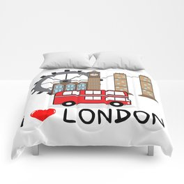 I love London Comforters