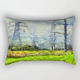 Vincent Van Uninspired Rectangular Pillow
