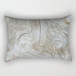 Wood Grain Rectangular Pillow