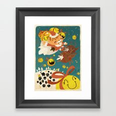 Merry Smiley Christmas to EVERYONE! Framed Art Print