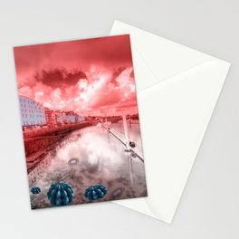 Red Harbouring  Stationery Cards