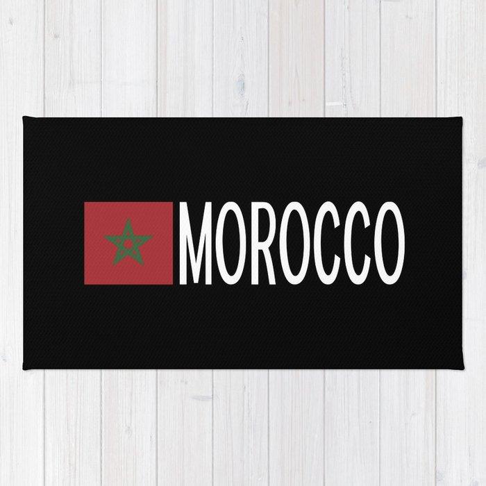 Morocco: Moroccan Flag & Morocco Rug