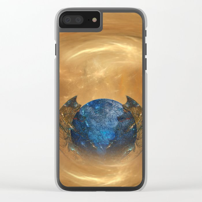 Birth of a planet Clear iPhone Case