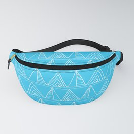 Triangles- Simple Triangle Pattern for hot summer days - Mix & Match Fanny Pack