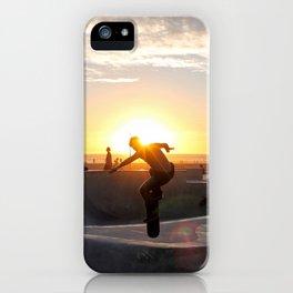 Sunset Skate iPhone Case