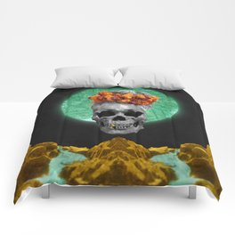 Spiritual Skull Of The Gold Land And The Millstone Comforters