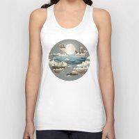design Tank Tops featuring Ocean Meets Sky by Terry Fan