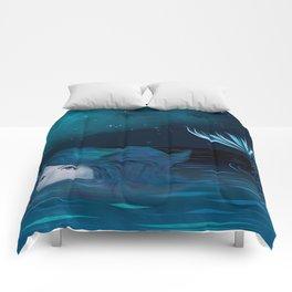 Mermaid in the Night Comforters