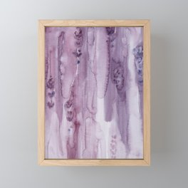 Stalks Of Lavender Framed Mini Art Print