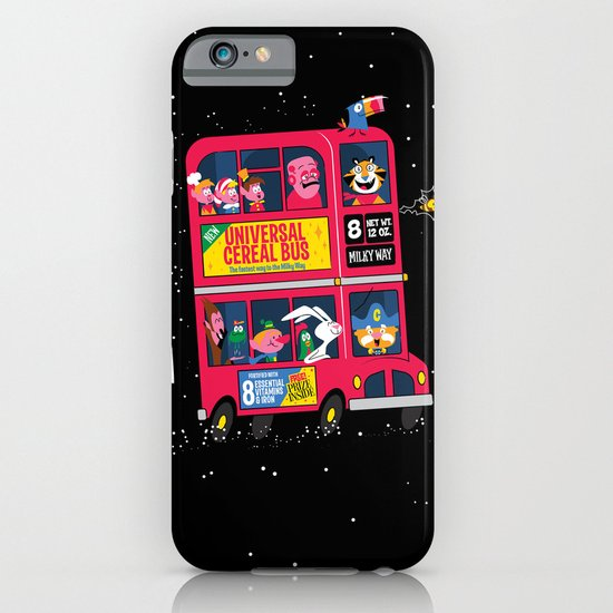 Universal Cereal Bus iPhone & iPod Case