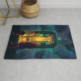 The Doctor, Bill and the kitchen Rug