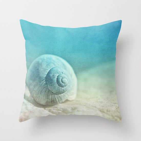 APRICOTEE | Blue version Throw Pillow