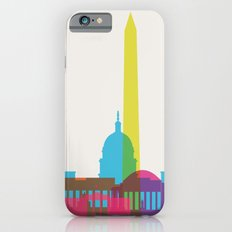 Shapes of Washington D.C. Accurate to scale iPhone 6 Slim Case