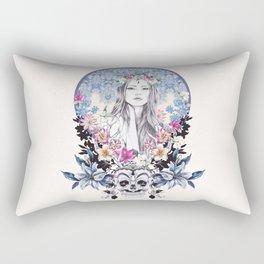 Topeng Rectangular Pillow