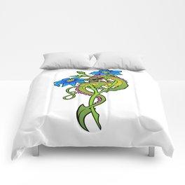 Flower Dragon Comforters