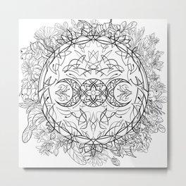 Moon nature Metal Print