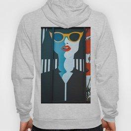 Girl with sunglasses Hoody